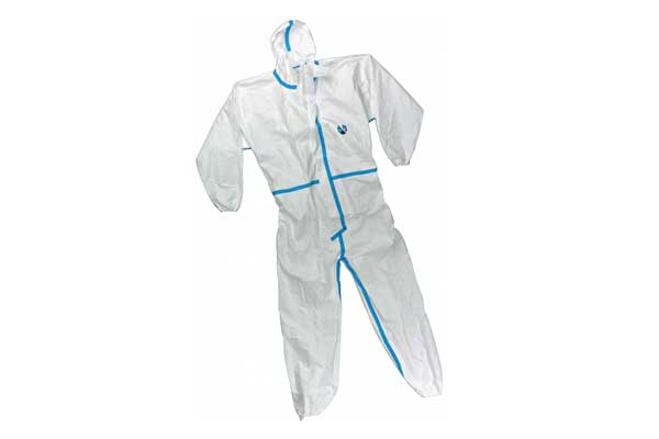 enhanced antiviral protective suit