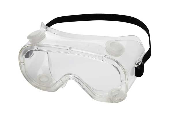 Medical splash goggles